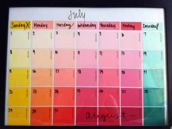 Diy Calendar On Word : Diy ana claudia lopes